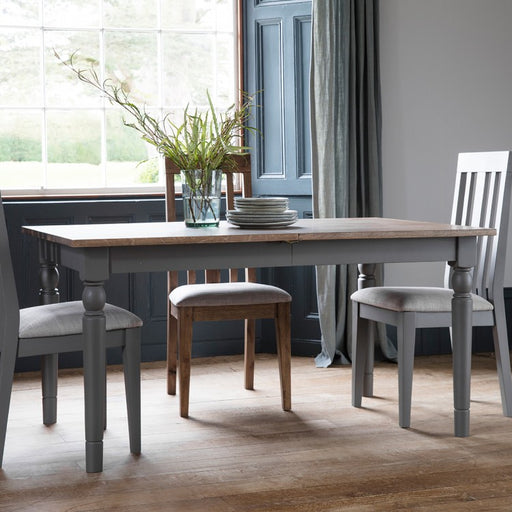Cookham Extending Dining Table Grey - The Furniture Mega Store