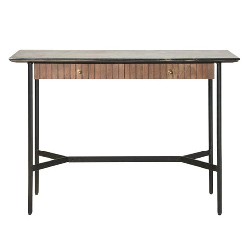 Bari 2 Drawer Console / Desk Table - The Furniture Mega Store