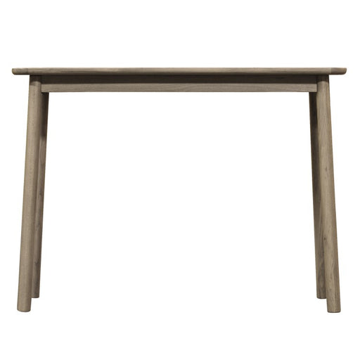 Kingham Oak Console Table Grey
