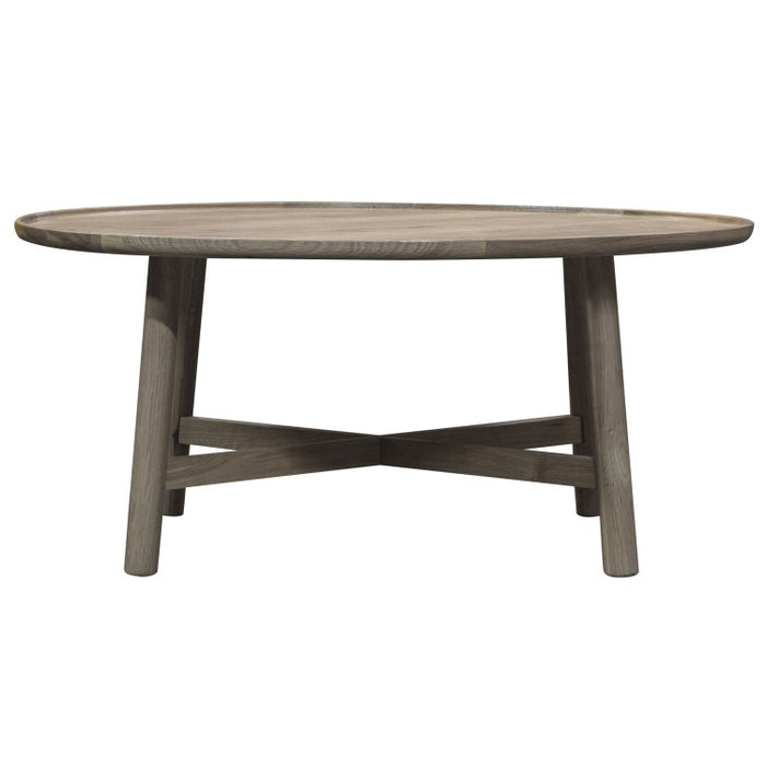 Kingham Round Coffee Table Grey