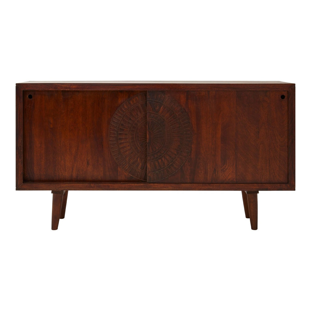Vence Mango Wood Large Boho Sideboard