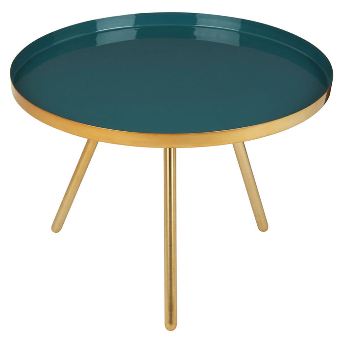 Enox Large Diesel Enamel Table - The Furniture Mega Store