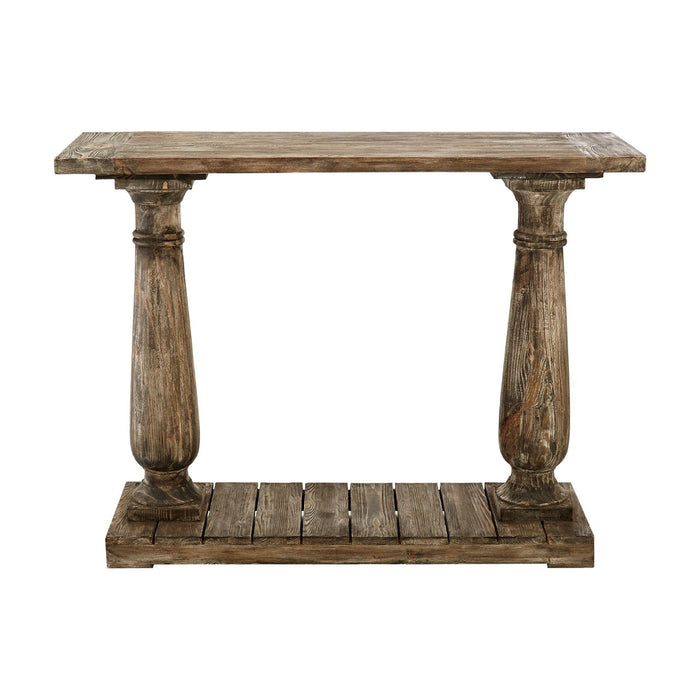 Lovina Pillar Console Table