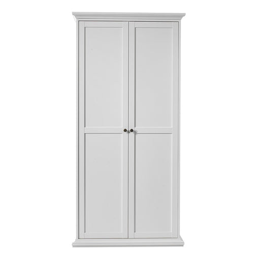 Parisian 2 Door Wardrobe in White