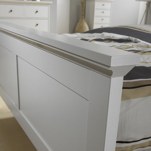 Parisian Double Bed 4ft6 in White - The Furniture Mega Store