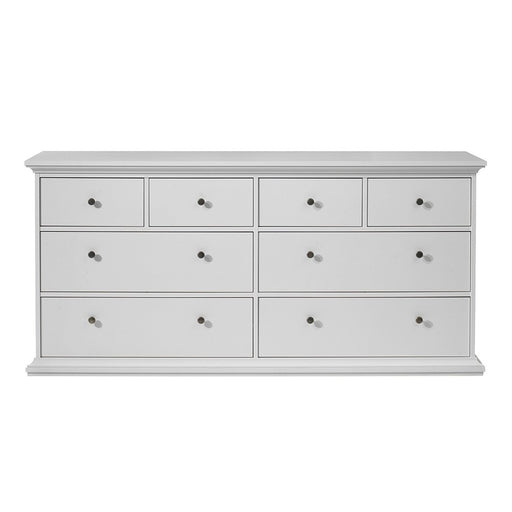 Parisian Chest of 8 Drawers in White