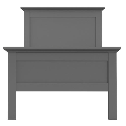 Parisian Single Bed in Matt Grey