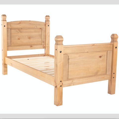 Mexican 3ft High Foot End Pine Bed
