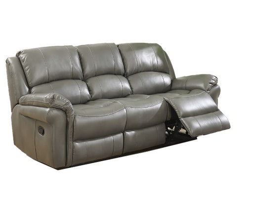 Lucas Grey Leather Air Recliner 3 & 2 Seater Sofa Set