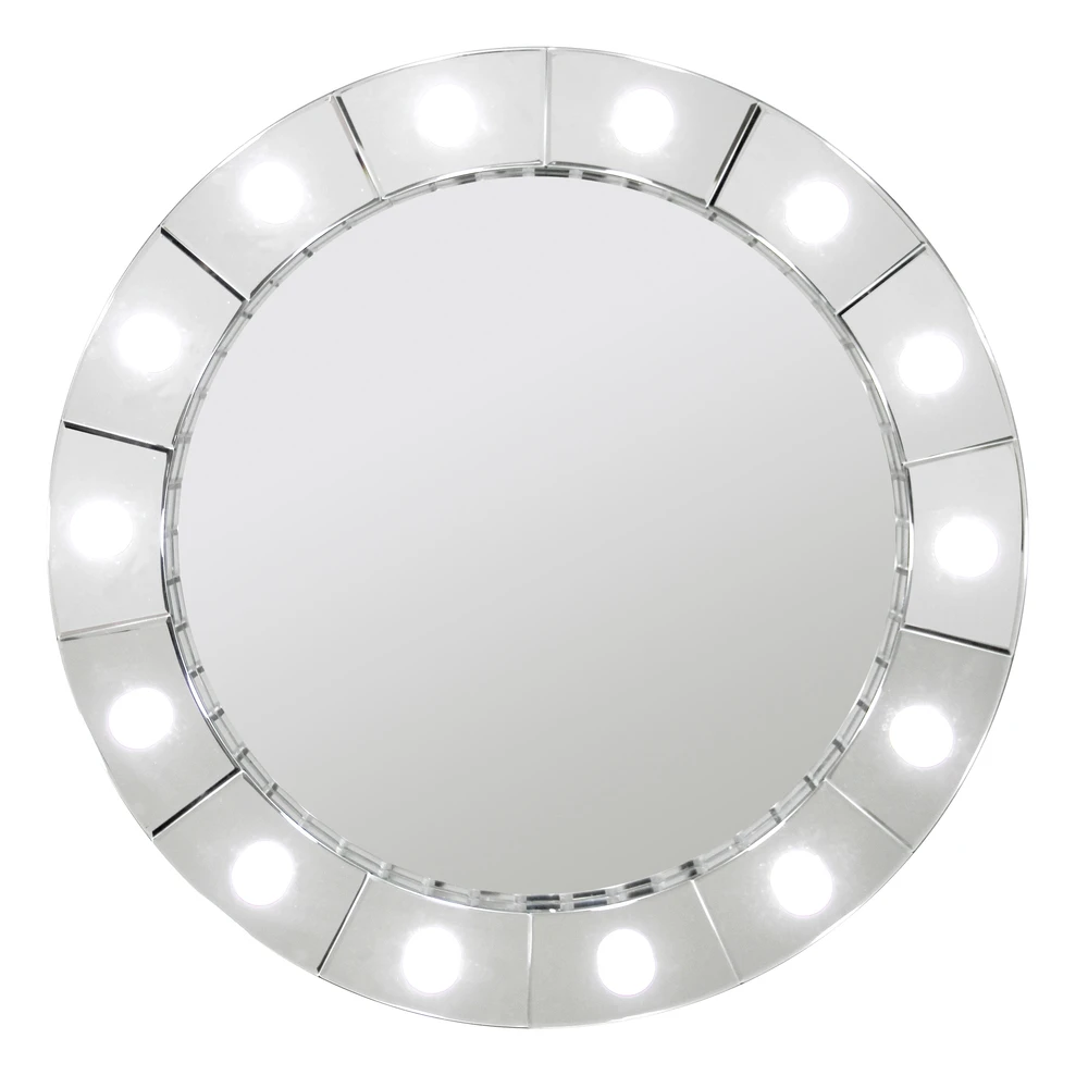 Large Hollywood Round Make Up Mirror - 81cm