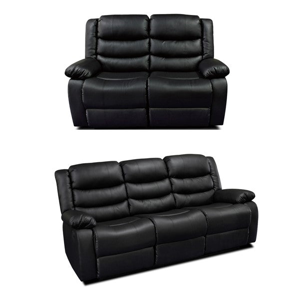 Sheridan 3+2 Leather Recliner Sofa Set - Choice Of Colours
