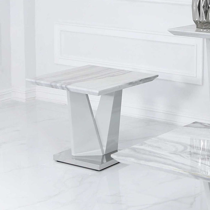 marble side table - the furniture megastore