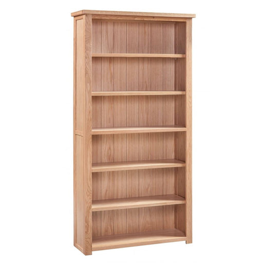 Romsey Solid Oak Large Bookcase