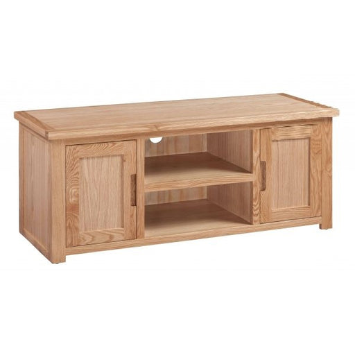 Romsey Solid Oak Large Flat Screen TV Cabinet