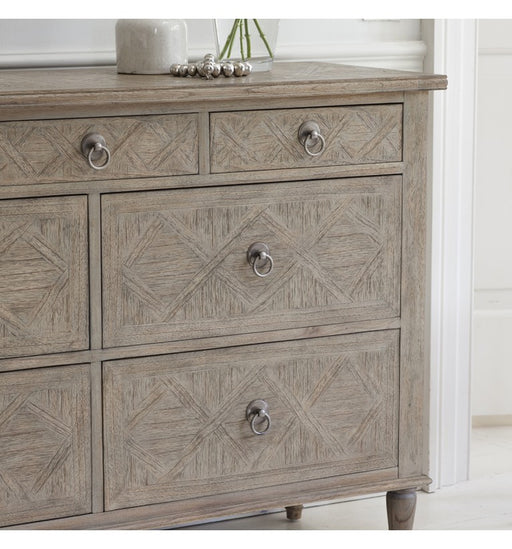 Mustique 7 Drawer Chest - The Furniture Mega Store