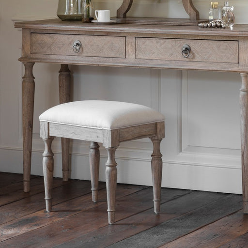 Mustique Dressing Table Stool - The Furniture Mega Store