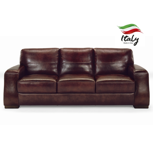 Sorrento Italian Leather Sofa & Chair Collection - Choice Of Leathers - The Furniture Mega Store