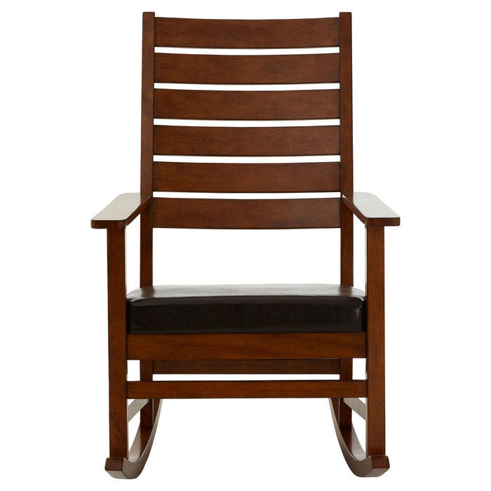 Samson Rocking Chair - Dark Wood