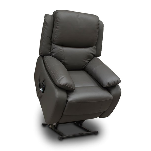 Emblem Real Leather Lift and Rise Chair - Choice Of Colours