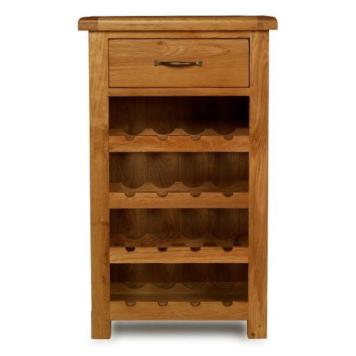 Earlswood Oak Petite Wine Cabinet