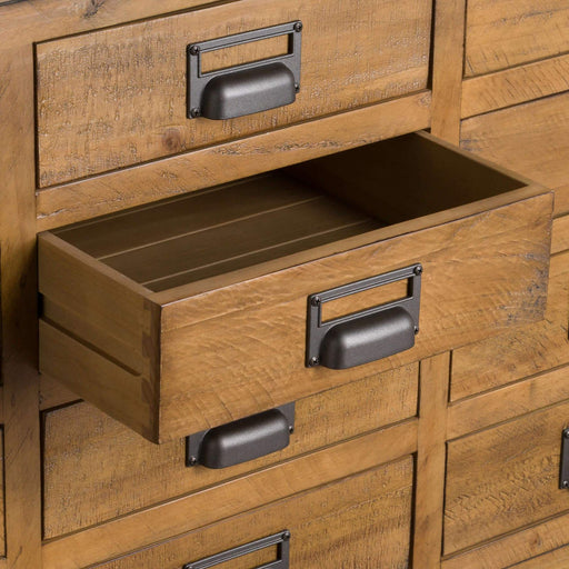 The Draftsman Collection 20 Drawer Merchant Chest - The Furniture Mega Store