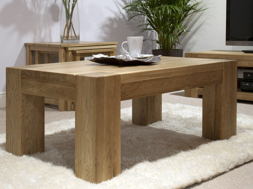 Trend Oak Large Coffee Table - The Furniture Mega Store