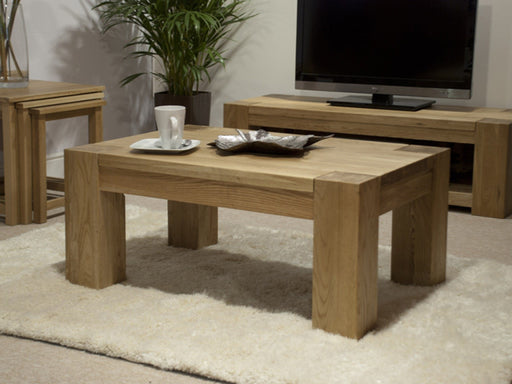 Trend Oak Small Coffee Table - The Furniture Mega Store