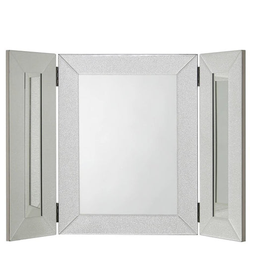 Ariana Champagne Sparkle Vanity Mirror - The Furniture Mega Store