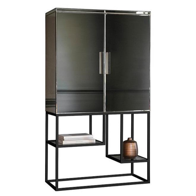 Pippard Cocktail Cabinet Black