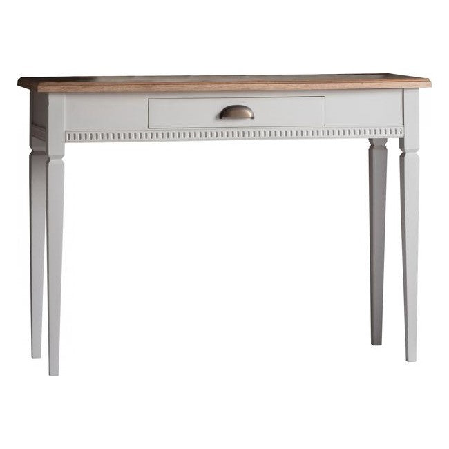 Bronte Taupe 1 Drawer Console Table