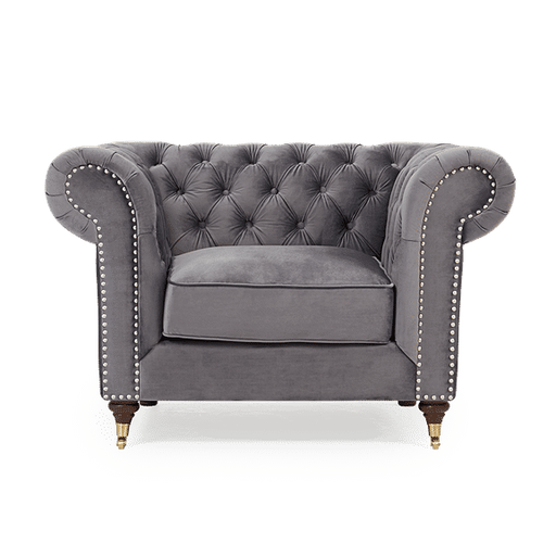 Amara Velvet Chesterfield Collection - Choice Of Colours & Sizes