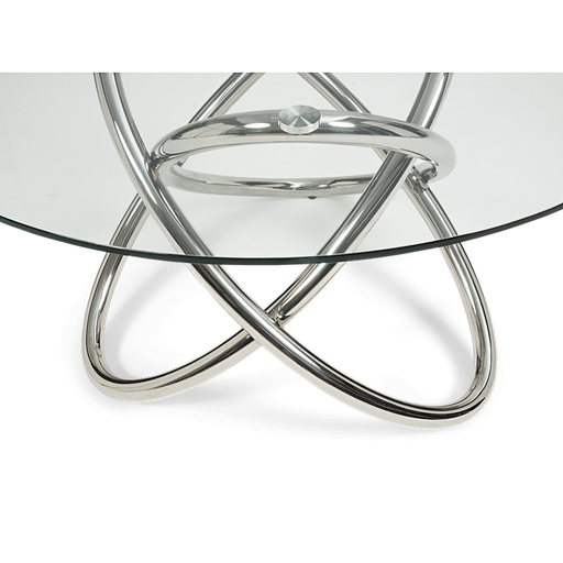 Dina 135cm Round Glass Dining Table
