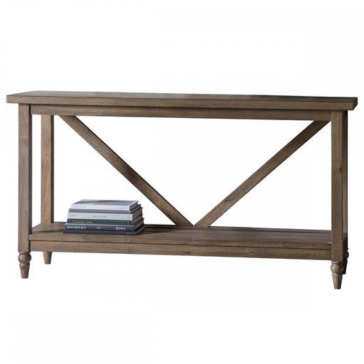 Cookham Console Table Oak - The Furniture Mega Store