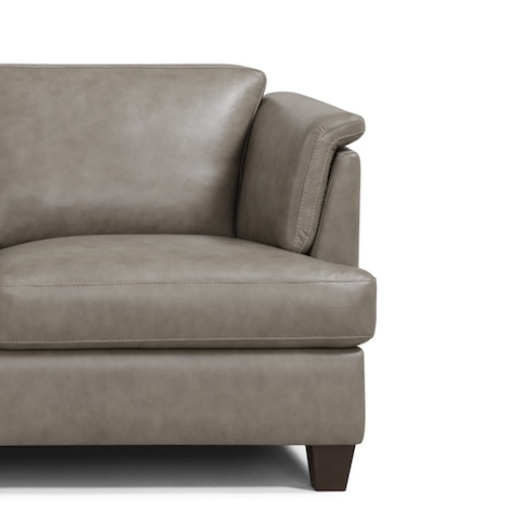 Gent Italian Top Grain Leather Sofa & Chair Collection - Choice Of Colours - The Furniture Mega Store