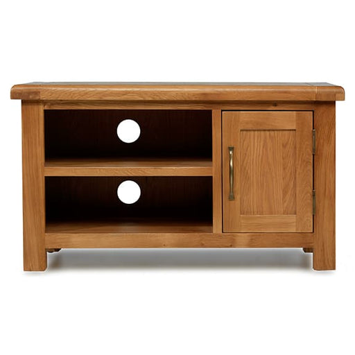 Earlswood Oak 1 Door TV Cabinet - The Furniture Mega Store