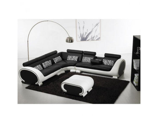 Jazz Leather Corner Sofa