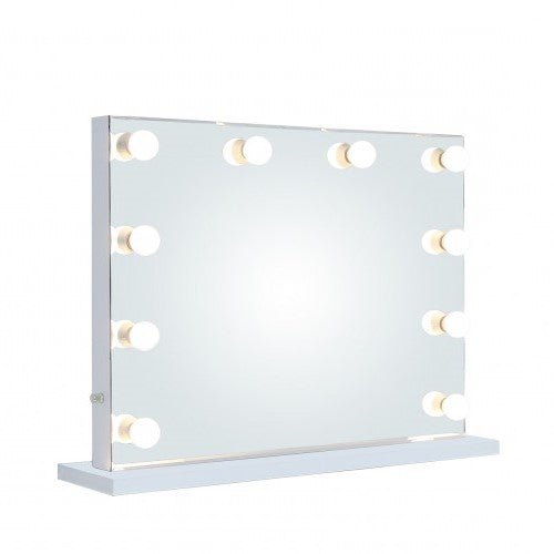 Large Broadway 10 Light Dimmable Vanity Mirror