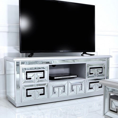 Athena Mirrored Entertainment TV Unit