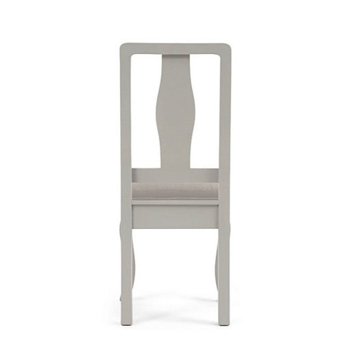 Sienna Grey Dining Chairs With Grey Padded Seat - Set Of 2 - The Furniture Mega Store