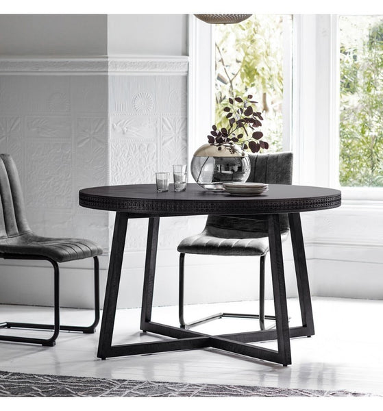 Bohemian Boutique Round Dining Table