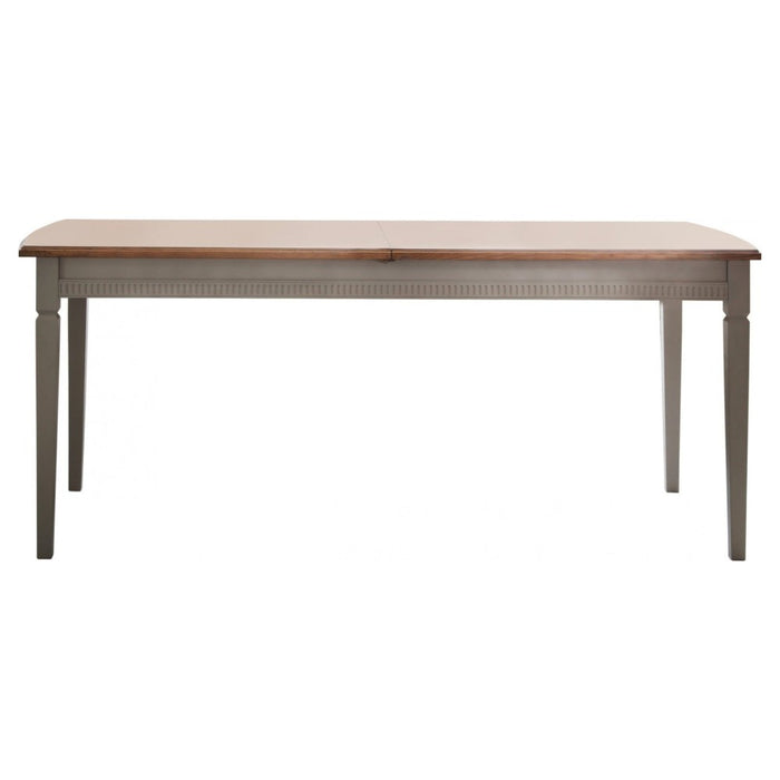 Bronte Taupe Extending Dining Table