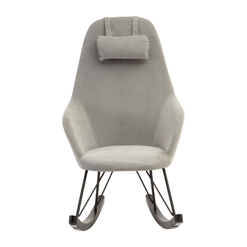 Rafferty Rocking Chair - Grey Fabric