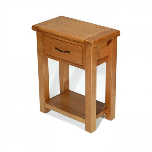 Earlswood oak console