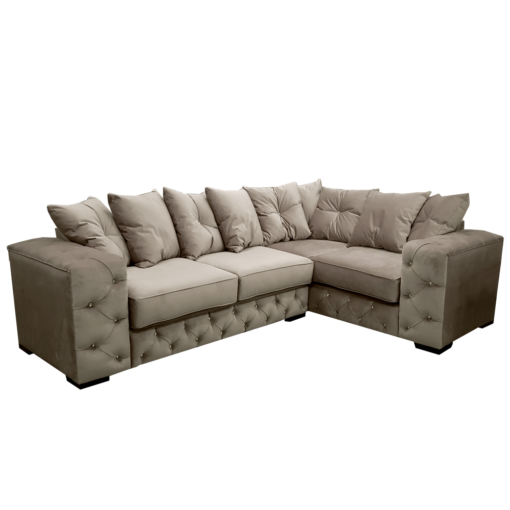 Deluxe Corner L Shaped Sofa - Choice Of Colours