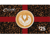 Gift Card - Caruso's Coffee, Inc.