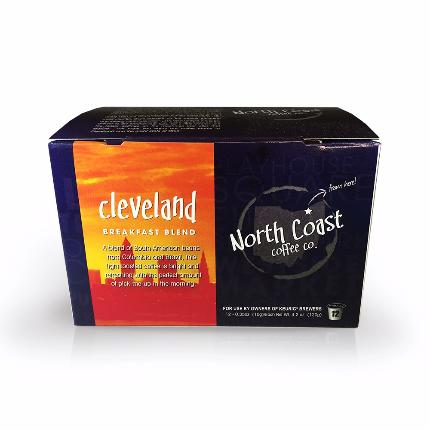 North Coast Cleveland Breakfast Blend, Single-Serve - Caruso's Coffee, Inc.