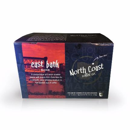 North Coast East Bank Blend, Single-Serve - Caruso's Coffee, Inc.