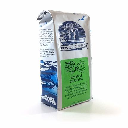 Erie Island Signature Decaf Blend, Ground (Promotional Offer) - Caruso's Coffee, Inc.