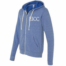 "Erie Island ""Anchored in Cleveland"" Fleece Full-Zip Hoodie - Caruso's Coffee, Inc."