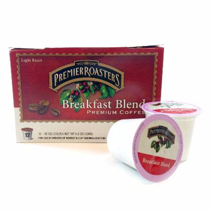 Premier Roasters Breakfast Blend, Single Serve - Caruso's Coffee, Inc.